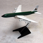 Braniff 707 Dark Green