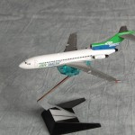 Air West 727 Green Blue