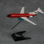 Braniff 727 Red