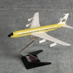 Braniff 707 Lemon Yellow